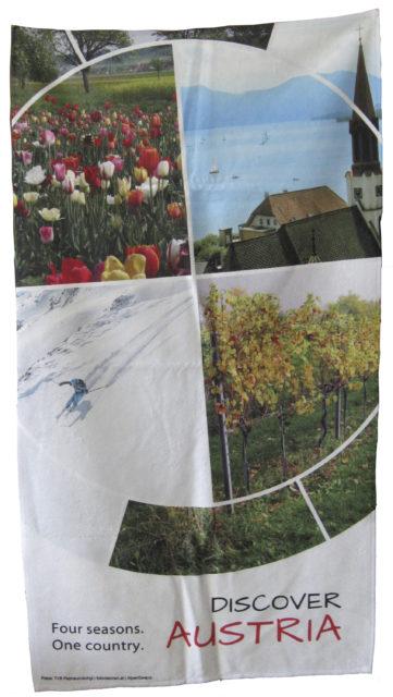 Frotteetücher mit Fotodruck